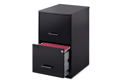 Lorell 14341 18u2033 Deep 2 Drawer File Cabinet