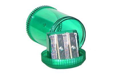 KUM Magnesium Alloy 2-Hole Barrel Pencil Sharpener
