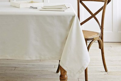 Williams Sonoma Hotel Tablecloth