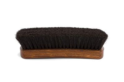 Kirby Allison Medium Horsehair Shoe Polishing Brush