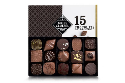 Michel Cluizel Chocolate Truffles Milk & Dark, 15