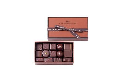 La Maison du Chocolat Coffret Maison Dark 29 Pieces