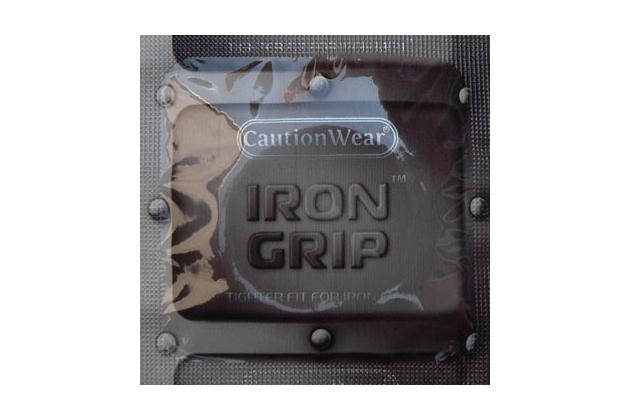 Caution Wear Iron Grip