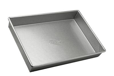 USA Pan Bakeware Aluminized Steel 13 x 9 x 2.25 Inch Rectangular Cake Pan