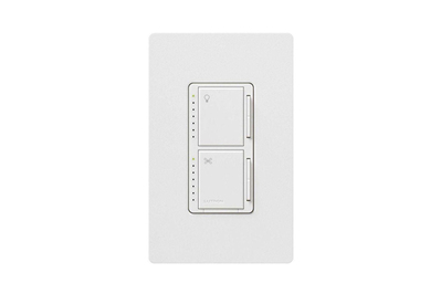 Lutron Maestro 7-Speed Combination Fan and Light Control