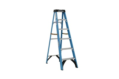 Werner FS106 6 ft Type I Fiberglass Single Sided Stepladder