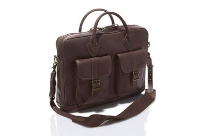 L.L.Bean Signature Leather Briefcase