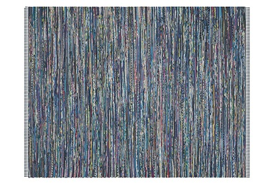 Hand-Woven Rag Rug (8' by 10')