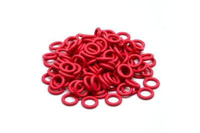 Cherry MX Rubber O-Ring Switch Dampeners Red