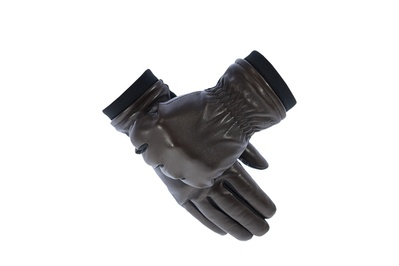 U|R Powered Derek Leather & Tech Stretch Gloves (men's)