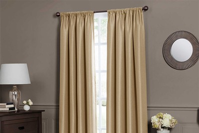 Emery Insulated Total Blackout Window Curtains