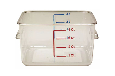 Rubbermaid Commercial Space Saving Square Storage Containers