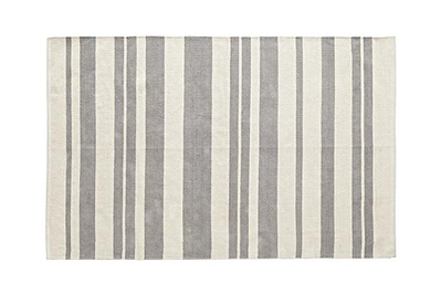 Crate and Kids Barcode Grey Rug