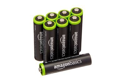 Image result for amazonbasics rechargeable batteries