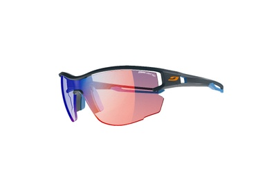 Julbo Aero with Zebra Light Red Lens
