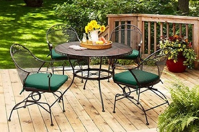 Enjoyable Better Homes And Gardens Clayton Court 5 Piece Patio Dining Set Interior Design Ideas Ghosoteloinfo