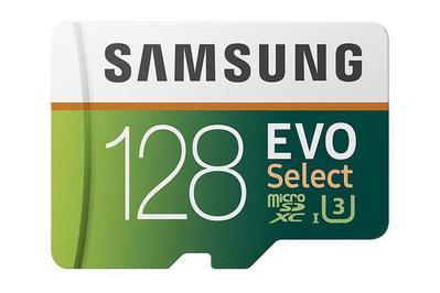 128 GB Samsung Evo Select