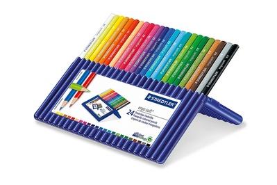 Staedtler Ergosoft Triangular Colored Pencils (24-count)
