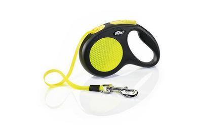 Flexi New Neon Retractable Tape Dog Leash