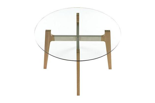 CB2 Brace Dining Table