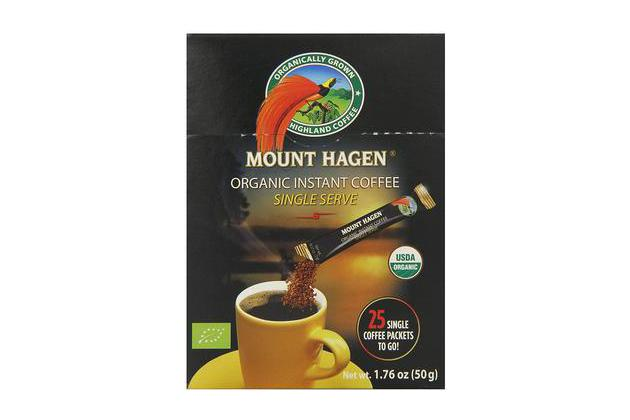 Mount Hagen Organic Single Serve Instant Coffee