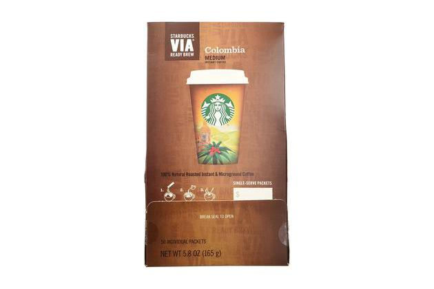 Starbucks Via Ready Brew Colombia