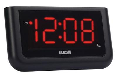 rca dual wake alarm clock manual