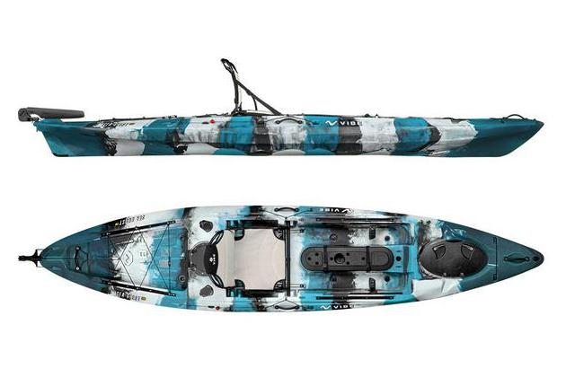 Vibe Sea Ghost 130 Angler (with paddle)