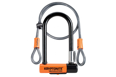 Kryptonite New-U Evolution Mini-7 w/Double Loop Cable