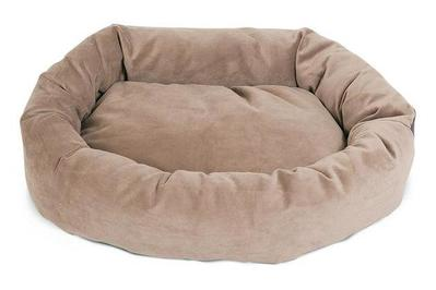 Superb Majestic Pet Products Suede Bagel Dog Bed Machost Co Dining Chair Design Ideas Machostcouk