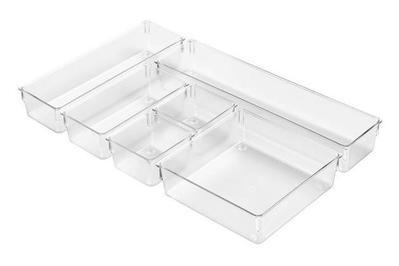 InterDesign Kitchen Drawer Organizer 6-piece set
