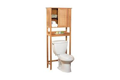 Bamboo Over the Toilet Space Saver