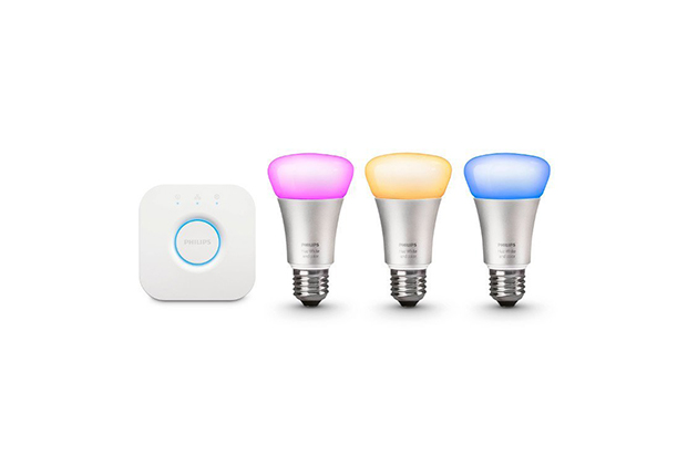 Philips Hue White and Color Ambiance A19 Starter Kit - 3 bulbs