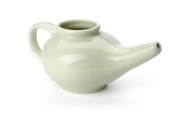 Aromatic Salt Premium Ceramic Neti Pot