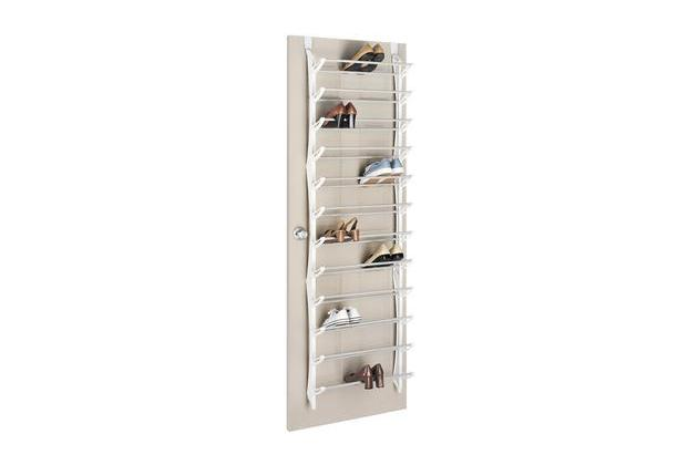 Whitmor 36 Pair Over the Door Shoe Rack