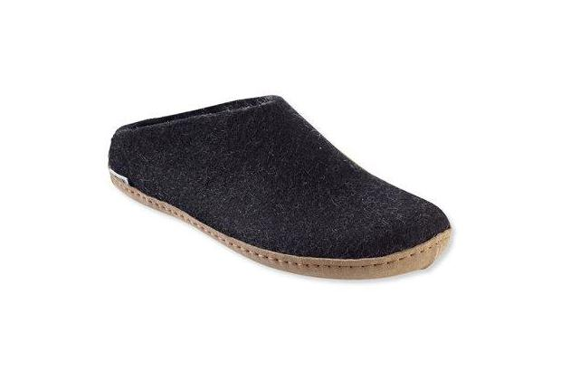 Superb Glerups Wool Slippers Open Heel