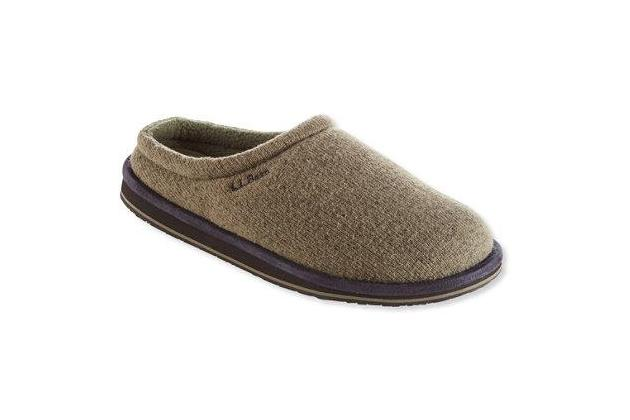 L.L.Bean Men's Sweater Fleece Scuffs