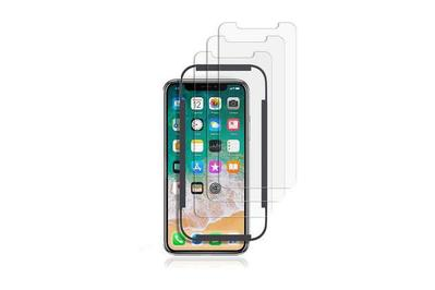 TechMatte amFilm Tempered Glass Screen Protector for iPhone X/XS