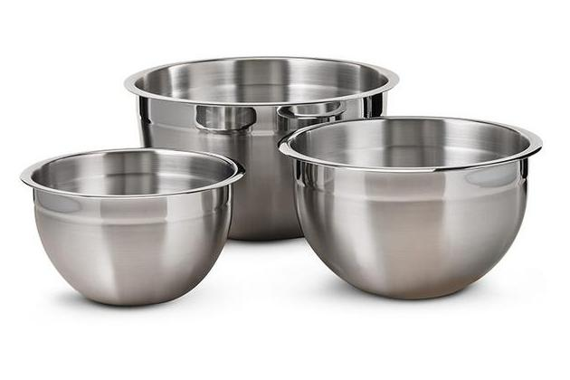 Tramontina ProLine 3-Piece Stainless Steel Mixing Bowls