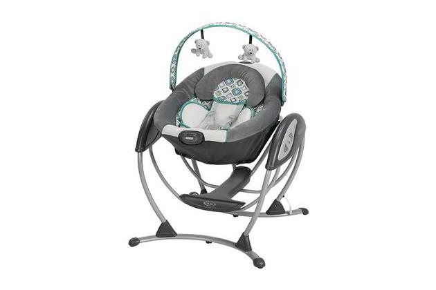 Our Pick. Graco Glider LX Gliding Swing