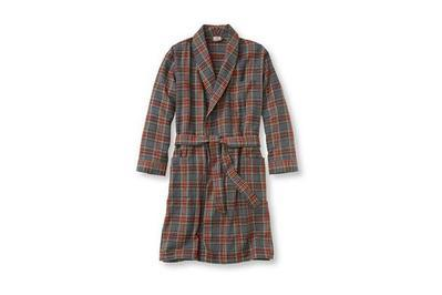 f641ddfbfb L.L.Bean Men s Scotch Plaid Flannel Robe