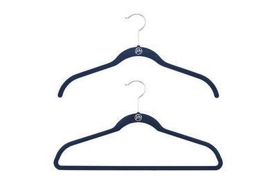 Joy Mangano Navy Huggable Hangers