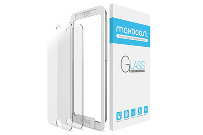 Maxboost Premium Tempered Glass Screen Protector for iPhone 8/7/6s/6