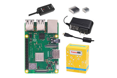 CanaKit Raspberry Pi 3 B+ with 2 5A Power Supply