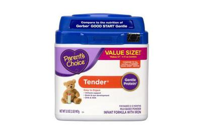Parent's Choice Tender Non-GMO Infant Formula