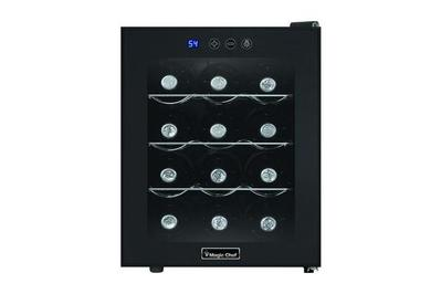 Magic Chef 12-Bottle Countertop Wine Cooler (MCWC12B)