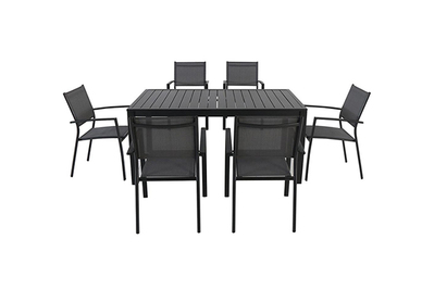 Cambridge Nova 7-Piece Rectangular Outdoor Dining Set