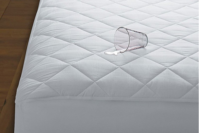 The Company Store 400-Thread Count Waterproof Cotton Top Mattress Pad