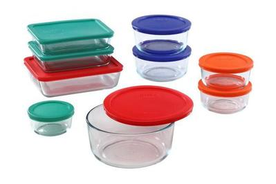 Pyrex 18-Piece Simply Store Food Storage Set