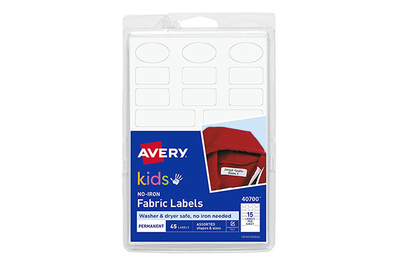 Avery No-Iron Fabric Labels